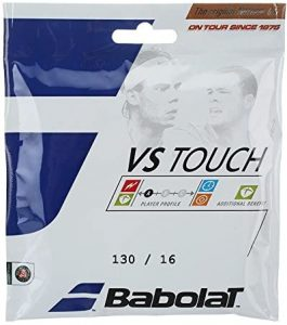 Babolat VS Touch Thermogut Natural Gut 16 Gauge Best Tennis Racquet string for Performance