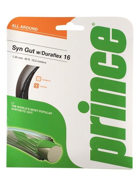 Best Tennis Racquet Prince Synthetic Gut Duraflex 16g String