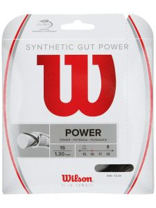 Wilson Synthetic Gut Power 16 Best Tennis String