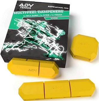 ADV Tennis Vibration Dampener Set of 3