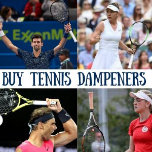 Nadal, Joker and many Female Professional Tennis Players Using Vibration Dampeners