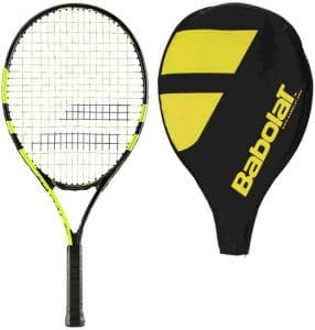 Strung Babolat Nadal 25 Junior Tennis Racquet with Cover