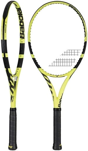 Babolat Pure Aero Is best for udder 4.0 players
