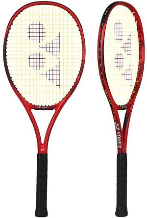 Yonex VCORE 95 Denis Shapovalov's Favorite Tennis Racquet in red