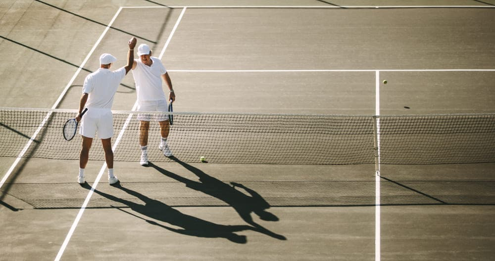 Benefits of Playing Tennis for elders