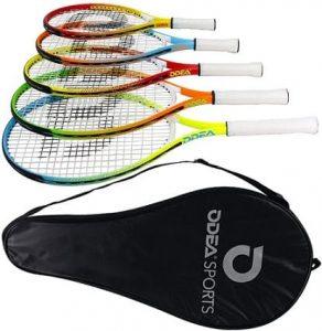 Geelife Junior Tennis Racquet Carbon Tennis Racket for Beginner Youth Kids Girls Boys Children Toddler