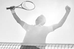 Playing Tennis DELAYS AGING PROCESS