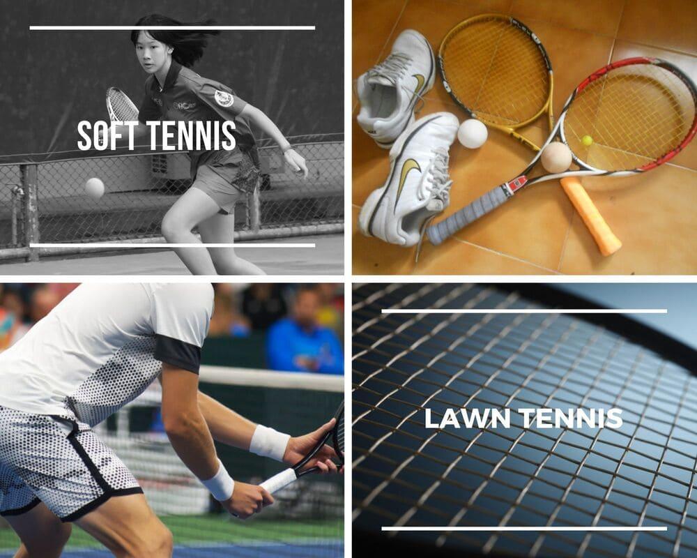Soft Tennis Racket & Lawn Tennis Racket