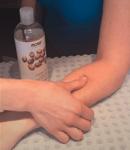 Tennis Elbow Pain Reliefwith Castor Oil