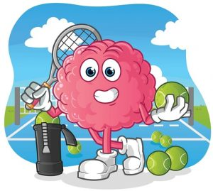 Tennis will IMPROVES MEMORY AND MENTAL HEALTH