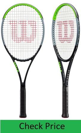 Wilson Blade 98 V7 Tennis Racquets used by Top Junior Female Tennis Player Victoria Jimenez Kasintseva