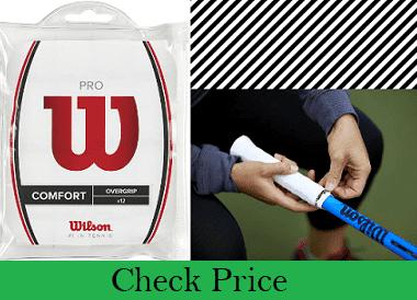 Number 1 Wilson Pro Tennis Racquet OverGrip for Sweaty Hands