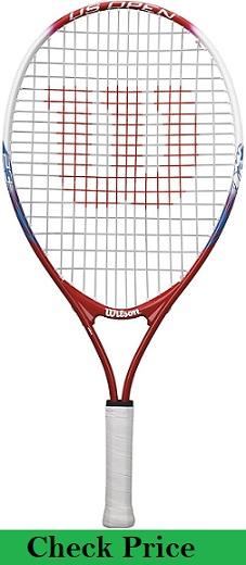 Wilson US open Youth Juniors Recreational Red Tennis Racket