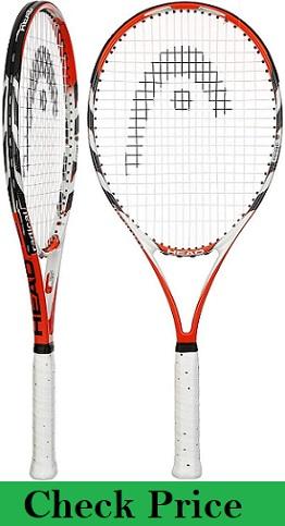 Head Micro Gel Radical OS prestrung Tennis Racquet