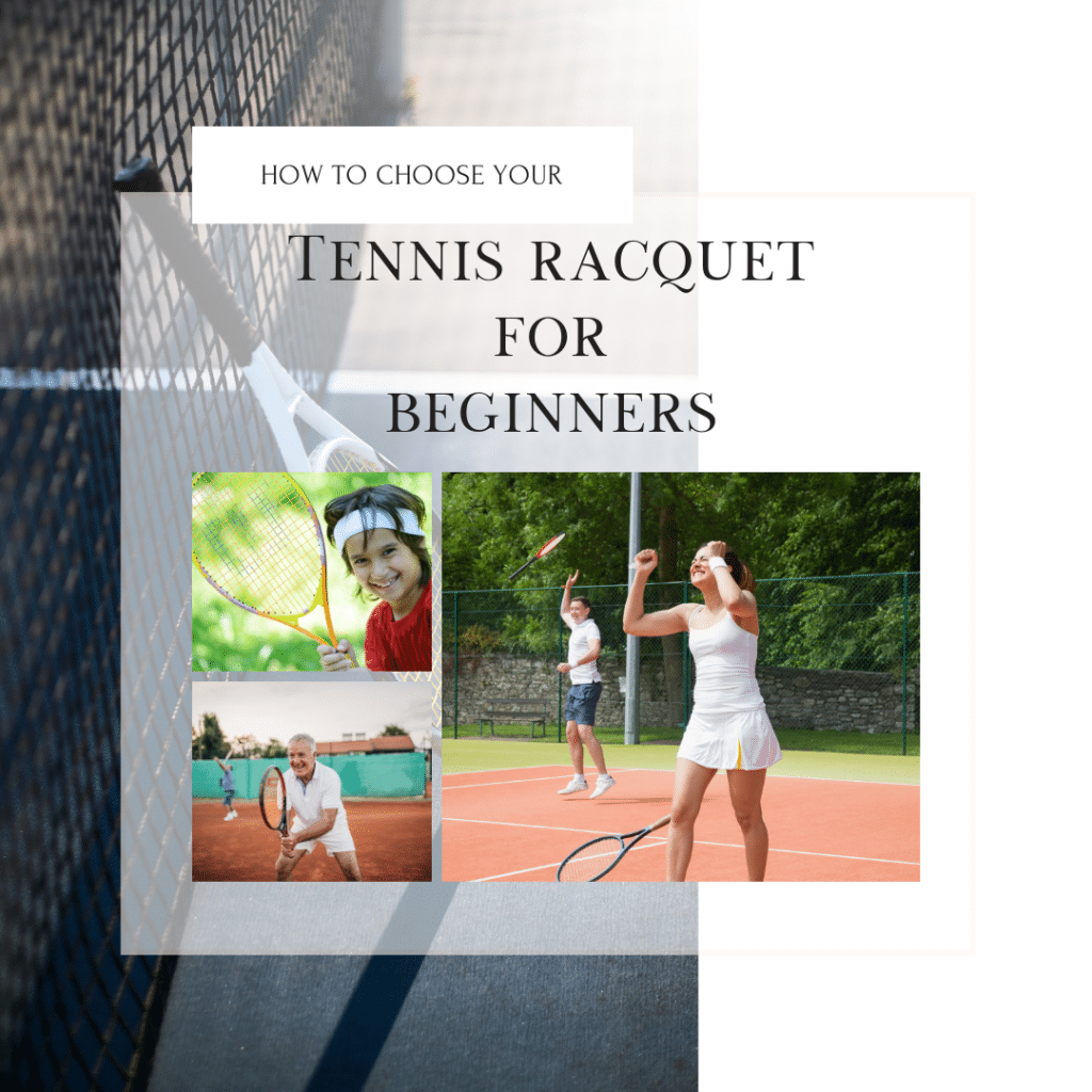 How to Choose a Tennis Racquet for Beginners Kid Adult Girl Senior