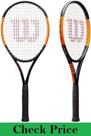 Wilson Burn 100 series (100LS, 100ULS, 100S) Tennis racquets