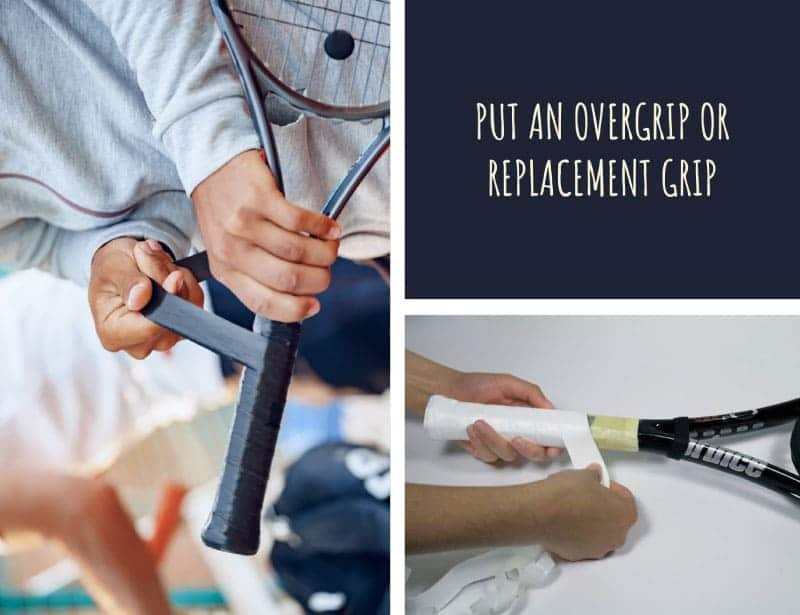 How to Put an Overgrip or Replacement Grip on Tennis Racquet?